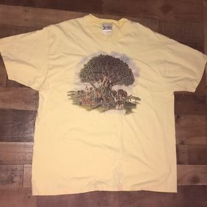 Animal kingdom vintage tee shirt Disney